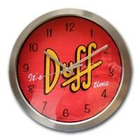 Wanduhr its Duff time